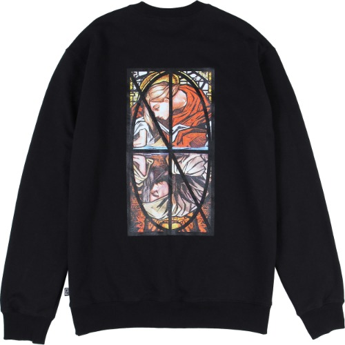 낫포너드 NOT4NERD - Narcissism Crewneck [Black]