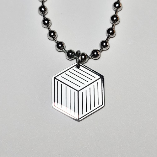 그린컨테이너 - ICON LOGO NECKLACE