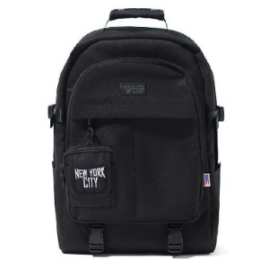 이벳필드 EBBETS FIELD - TRAVEL BUCKLE RUCKSACK BLACK
