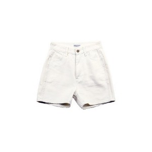 아조바이아조 AJOBYAJO - Symbol Denim Shorts [White]