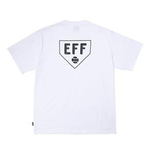이벳필드 EBBETS FIELD - HOME BASE LOGO TEE WHITE