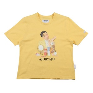 아조바이아조 AJOBYAJO - Cosmetic Man T-Shirt [Yellow]