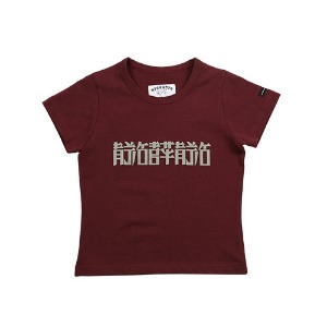 아조바이아조 AJOBYAJO - [WOMAN] CH/EN T-Shirt [Wine]