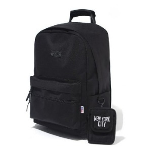 이벳필드 EBBETS FIELD - TRAVEL DAYPACK BLACK