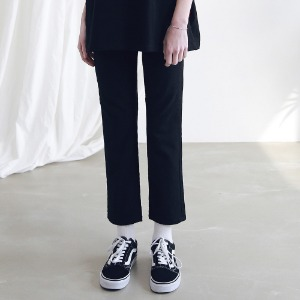 아더로브 ARDOROBE - CROP CHINO PANTS ALP191003-BK
