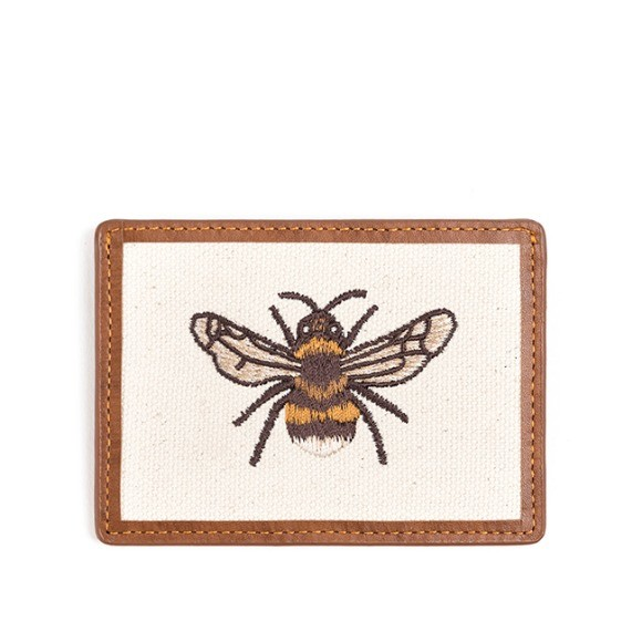 와일드 브릭스 WILD BRICKS - HONEYBEE CARD CASE (brown)