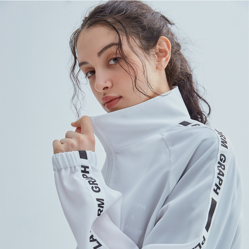 그래프플랫폼 GRAPHPLATFORM - GRPF line Windbreak White