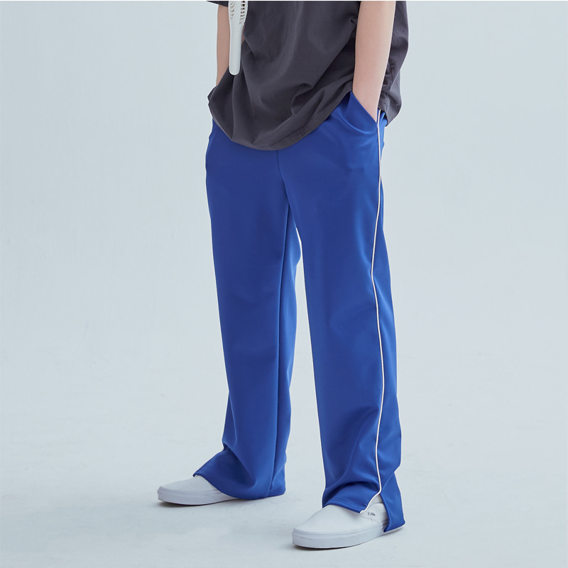 그래프플랫폼 GRAPHPLATFORM - Line training Pants Blue
