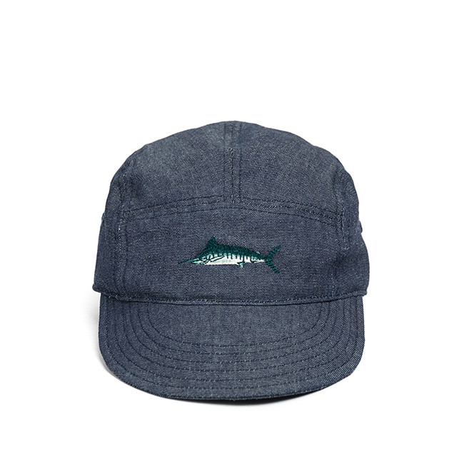 와일드 브릭스 WILD BRICKS - SAILFISH CAMP CAP (denim)