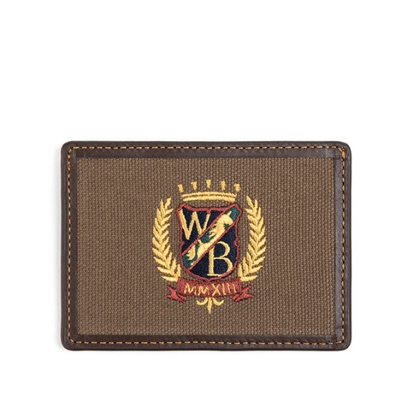 와일드 브릭스 WILD BRICKS -WB CARD CASE (dark brown)