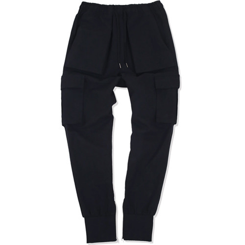 낫포너드 - NOT4NERD Cargo Jogger Pants Black