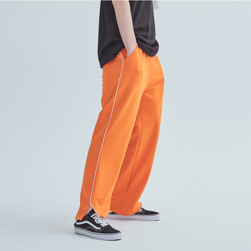 그래프플랫폼 GRAPHPLATFORM - Line training Pants Orange