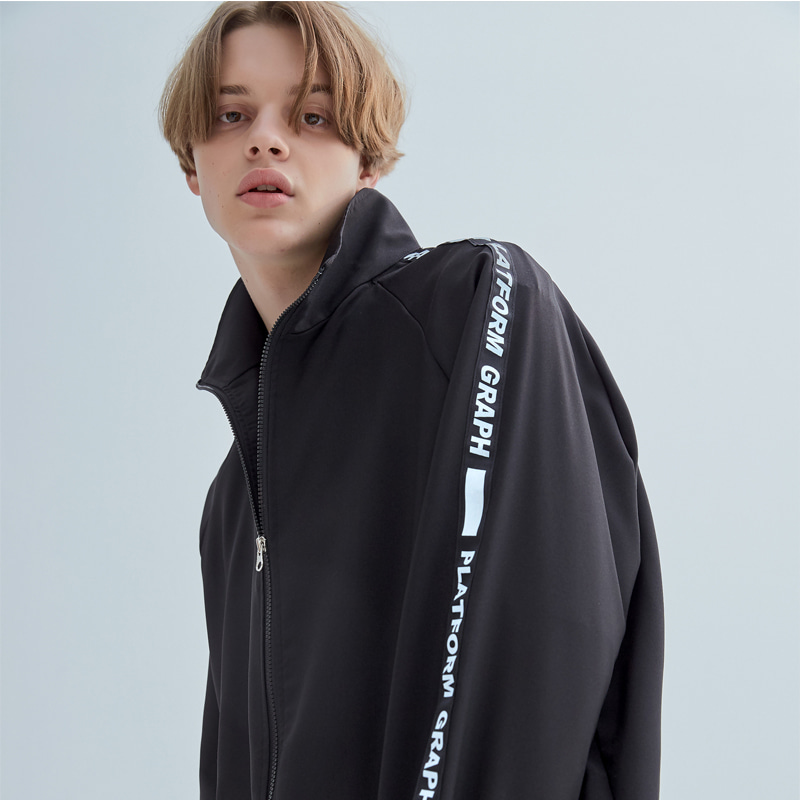 그래프플랫폼 GRAPHPLATFORM - GRPF line Windbreak Black