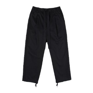 낫포너드 NOT4NERD - One Tuck Wide Pants Black [Black]