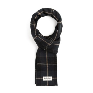 와일드 브릭스 WILD BRICKS - STC CHECK STOLE (black)