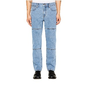 랩101 LAB101 - LJ3DJC04LB JOHN CROP DOUBLE CUT DAMAGE WASH