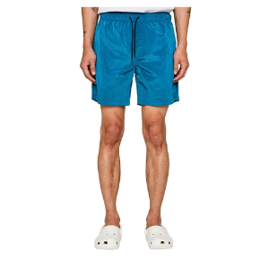 랩101 LAB101 - LJ1WHP01IB ICE BLUE WRINKLE NYLON SHORTS