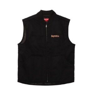 *국내배송* 슈프림 18FW Supreme Gonz Shop Vest Black