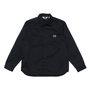 벤데이비스 BENDAVIS - TC TWILL WORK SHIRT (9780028) BLACK