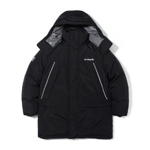 마크 곤잘레스 MARK GONZALES - M/G REFLECTIVE DUCK DOWN PARKA BLACK