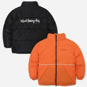 마크 곤잘레스 MARK GONZALES - M/G DUCK DOWN REVERSIBLE PUFFY JACKET BLACK