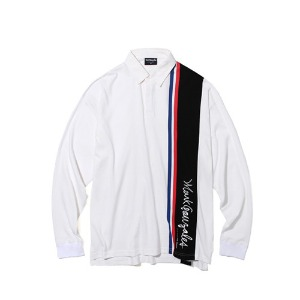 마크 곤잘레스 MARK GONZALES - M/G RUGBY SHIRT WHITE