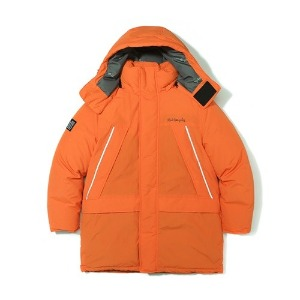 마크 곤잘레스 MARK GONZALES - M/G REFLECTIVE DUCK DOWN PARKA ORANGE
