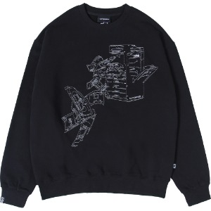 낫포너드 NOT4NERD - Money Printer Crewneck [Black]