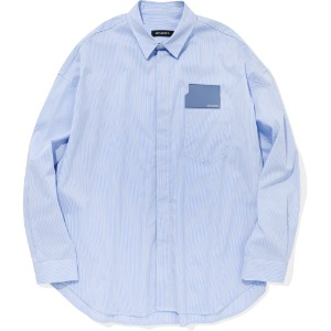 낫포너드 NOT4NERD - Card Wallet Oversized Stripe [Shirts Blue]