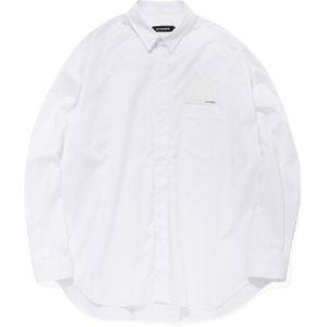 낫포너드 NOT4NERD - Card Wallet Oversized Shirts [White]