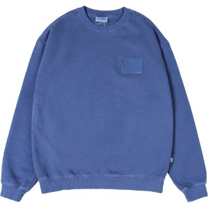 낫포너드 NOT4NERD - Pigment Card Wallet Crewneck [Midnight Blue]