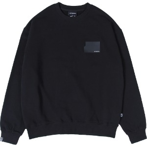 낫포너드 NOT4NERD - Card Wallet Crewneck [Black]