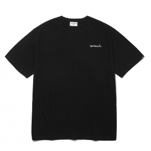 마크곤잘레스 - M/G SMALL SIGN LOGO T-SHIRTS BLACK