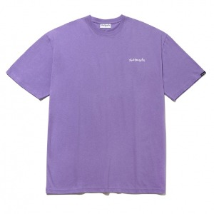 마크곤잘레스 - M/G SMALL SIGN LOGO T-SHIRTS LIGHT PURPLE