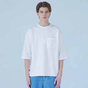 Muninnstation 뮤닌스테이션 - COTTON CAPRI TEE [WHITE]