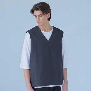 Muninnstation 뮤닌스테이션 - MUNINN VEST [CHARCOAL]