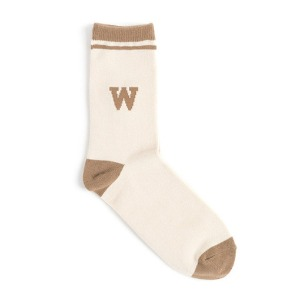 와일드 브릭스 WILD BRICKS - WB TENNIS SOCKS (beige)