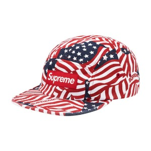 *국내배송* 20SS SUPREME WASHED CHINO TWILL CAMP CAP (SS20) FLAGS