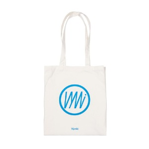 바이닉 Vynic - VYNIC CIRCLE LOGO ECO BAG (WHITE)