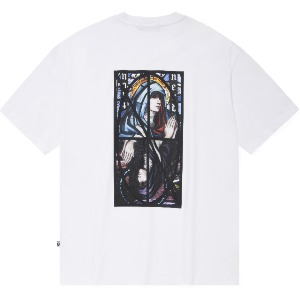 낫포너드 NOT4NERD - Remake Two Virgin Mary T-Shirts White