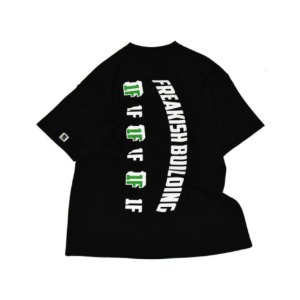 프리키쉬 빌딩 FREAKISH BUILDING - REPETITION SHORT SLEEVE TEE (BLACK)