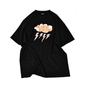 프리키쉬 빌딩 FREAKISH BUILDING - SLOPPY SHORT SLEEVE TEE (BLACK)