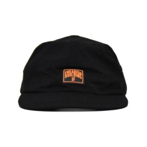프리키쉬 빌딩 FREAKISH BUILDING - HF CAMP CAP (BLACK)