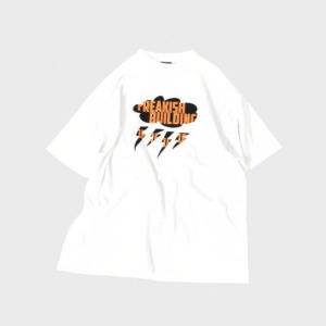 프리키쉬 빌딩 FREAKISH BUILDING - SLOPPY SHORT SLEEVE TEE (WHITE)