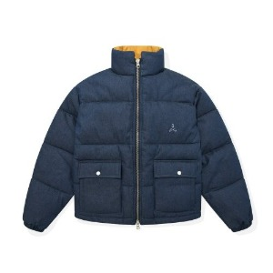 포스333 PHOS333 - Denim Puffer Jacket