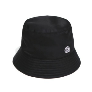 벌스원 VERSEONE - BUBBLE LOGO BUCKET HAT DARK BLACK