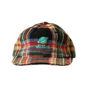 프리키쉬빌딩 FREAKISH BUILDING FOLCOM CHECK FLAT CAP (BLACK)