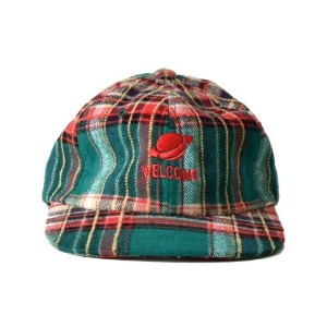 프리키쉬빌딩 FREAKISH BUILDING FOLCOM CHECK FLAT CAP (GREEN)