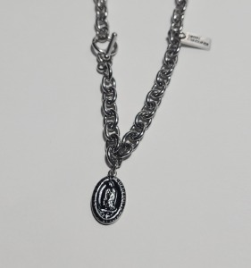 그린컨테이너 - OUR LADY (BLACK) NECKLACE