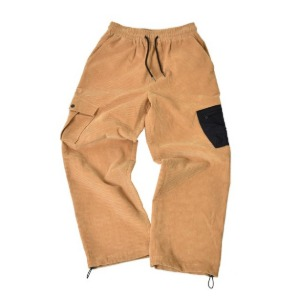 프리키쉬빌딩 - DIAGO CORDUROY LONG PANTS (BEIGE)